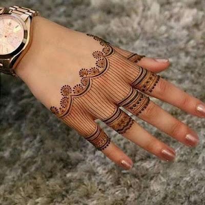 75+ Latest arabic mehndi designs for hands