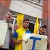 Oposición realiza manifestación sorpresa a las afueras de la gobernación de Trujillo