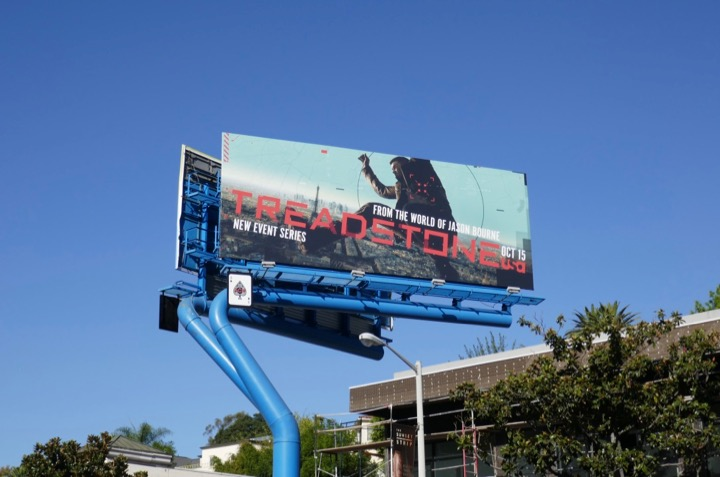 Treadstone tv series billboard