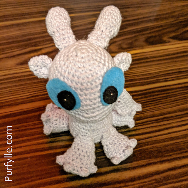 Crochet Mini Dragon