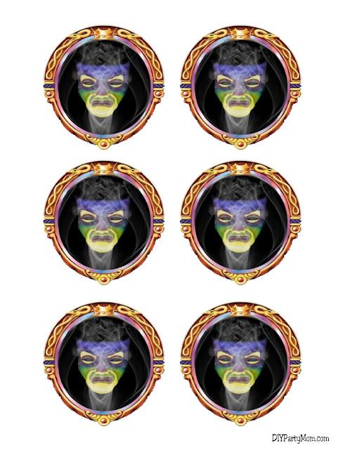 Magic Mirror Lollipop Stickers