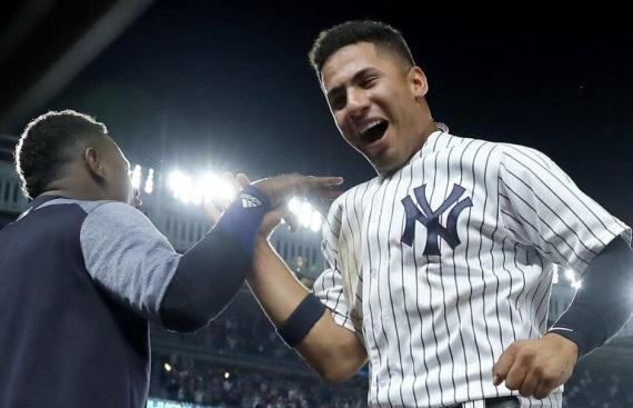 VIDEO: DE VILLANO A HEROE Gleyber Torres Yankees deja en el terreno a los Astros Altuve