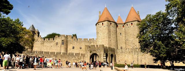 Panorama sulla porta di accesso alla cittadella