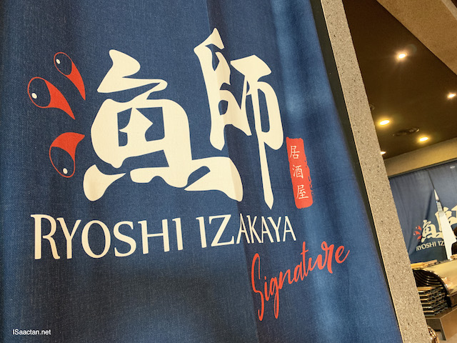 Ryoshi Izakaya Signature Grand Opening @ Atria Shopping Gallery