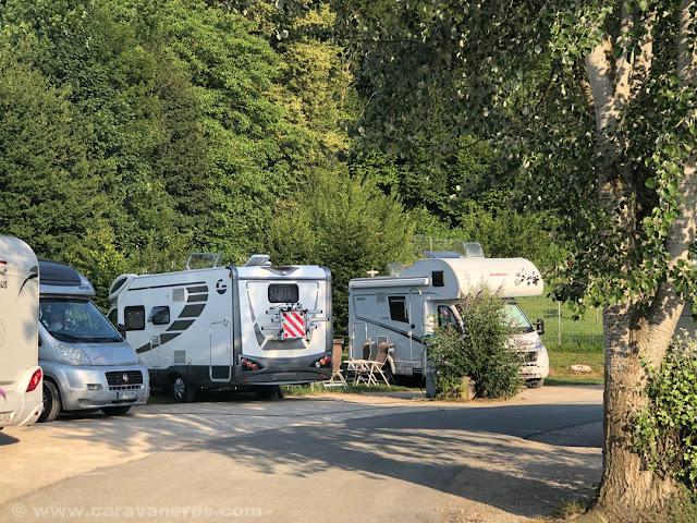 Área de autocaravanas de Baume les Dames | Alsacia y Selva Negra en autocaravana Capitanía de Baume les Dames