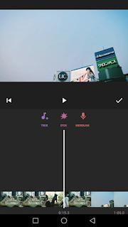 Cara edit video menambah musik pada video menggunakan aplikasi Inshot di Android
