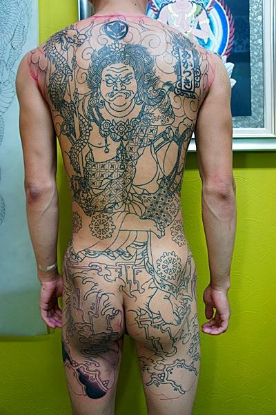不動明王 刺青 タトゥー 和彫り TATTOO
