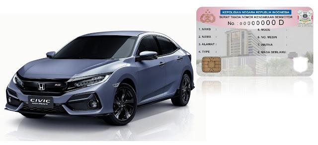Daftar  Lengkap Biaya Pajak Honda Civic Terbaru 2020