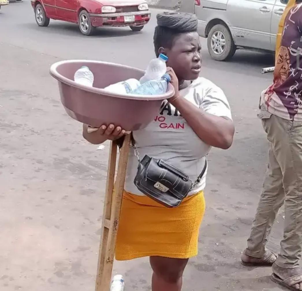 Finally, Sanwo-Olu hands over amputee sachet water hawker to police over untrue stories