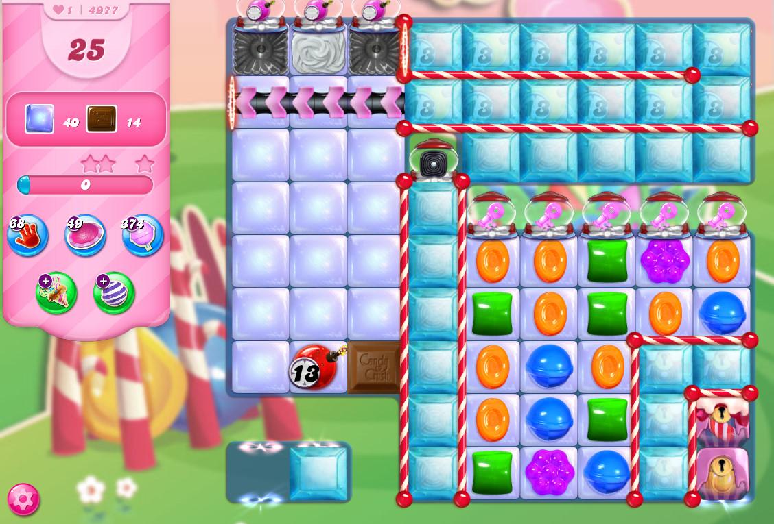 Candy Crush Saga level 4977