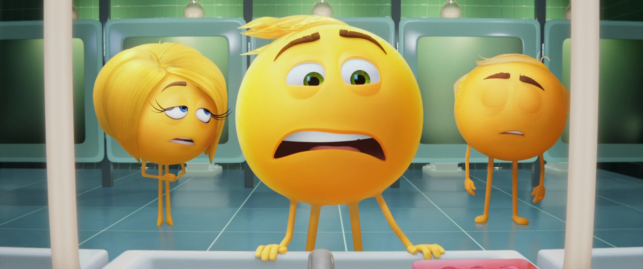 Emoji: La Película (2017) HD 720p Latino - Ingles captura 1