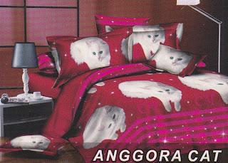 Sprei Fata Anggora Cat