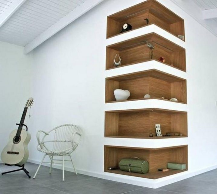 40 Amazing & Creative Corner Shelves To Get The Most Of The Space Available