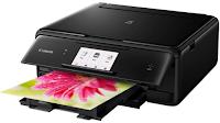 Canon TS8050 est une imprimante multifonction qui comprend de grandes fonctionnalités ainsi que l'efficacité