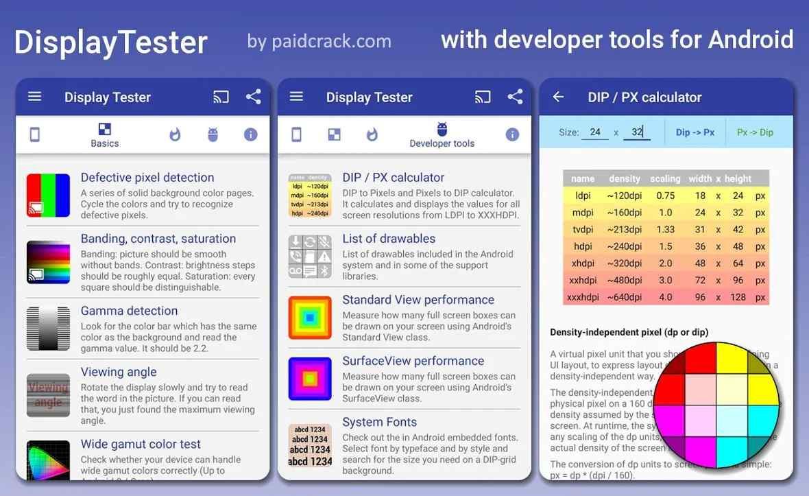 Display Tester Pro Mod Apk 4.42