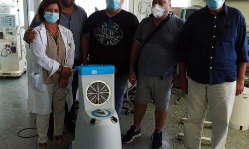 Σε μία σημαντική δωρεά προς το νοσοκομείο προχώρησε το Σωματείο Αρτοποιών Άρτας. Το σωματείο δώρισε σύστημα ρομποτικής απολύμανσης κάτι που ήταν άκρως απαραίτητο για το νοσολευτικό ίδρυμα.