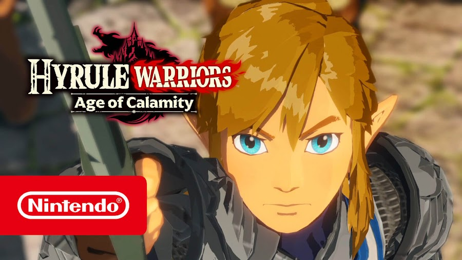 hyrule warriors age of calamity reveal koei tecmo games  nintendo  hack and slash game switch trailer 2020