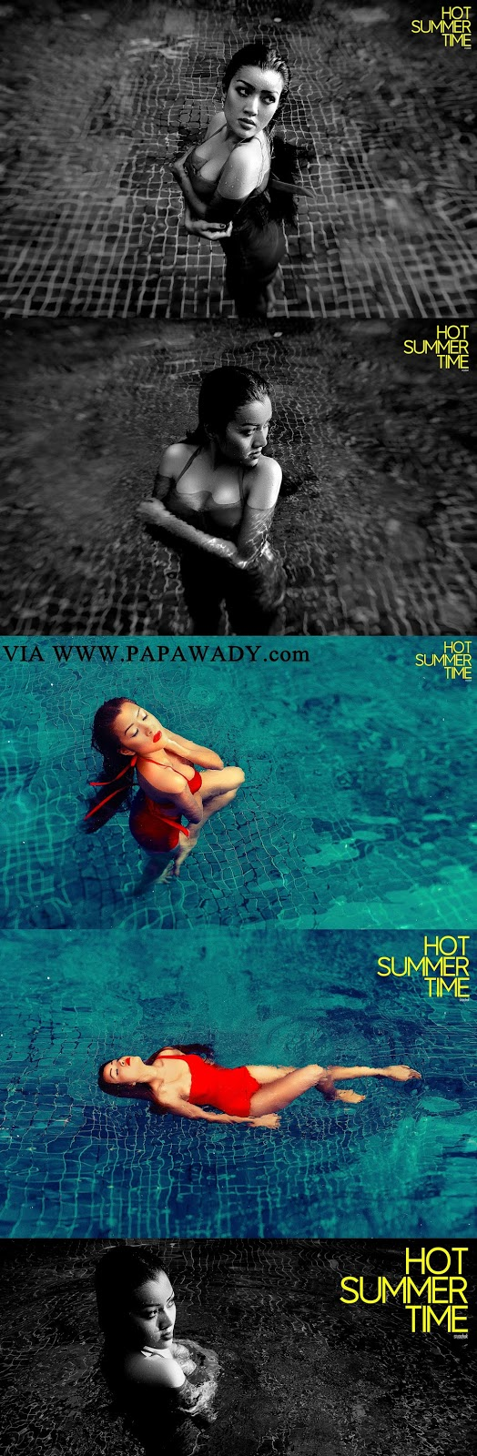 Poe Ei Phyu Zin - Summer Time Photoshoot By HAK