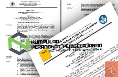 Contoh SK Pengangkatan Tata Usaha (TU)