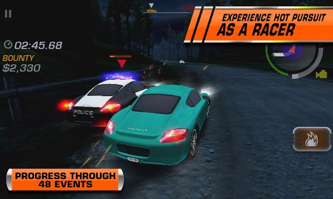 NFS Hot Pursuit MOD APK Data v1.0.89