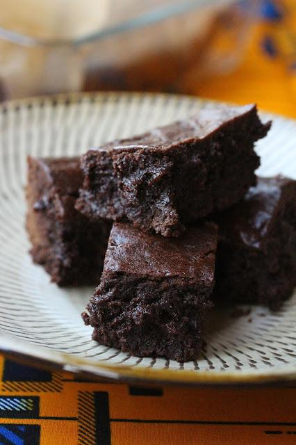brownies melasse de caroube tahine