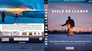 CARATULA HIELO EN LLAMAS- ICE OF FIRE 2019[COVER BLU-RAY]