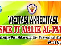 Download Contoh Spanduk Visitasi Akreditasi Sekolah Format CDR