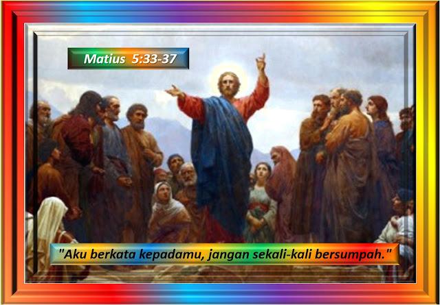 MATIUS 5:33-37