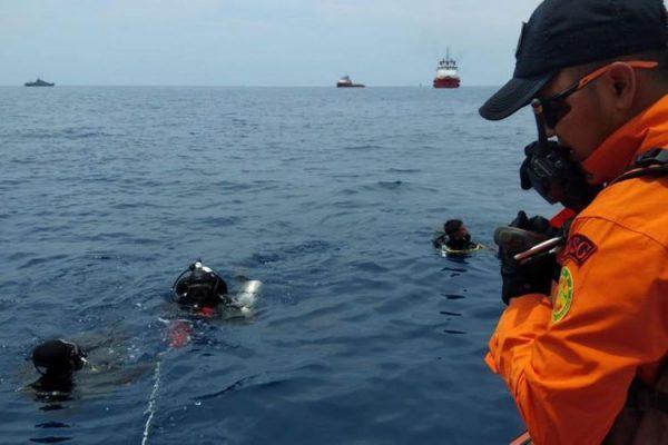Tragedi Lion Air, Tim Penyelam Hadapi Kencangnya Arus Bawah Laut Perairan Karawang