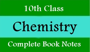 10th Class Chemistry Notes all Chapters PDF Download