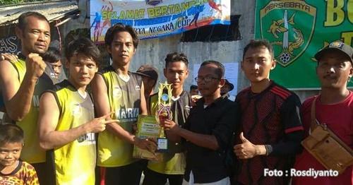 Pemenang Turnamen Bola Volley Surya Negara Cup 2 Widasari