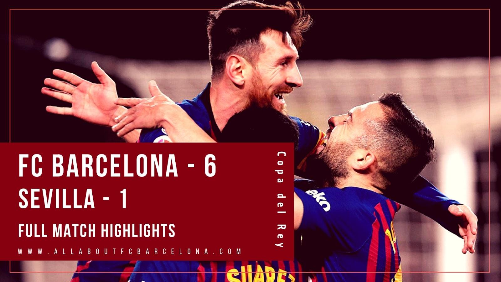 Fans go wild as Barcelona score outrageous tiki-taka goal against Sevilla