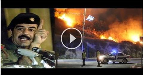 بالفيديو حرائق إسـرائيل المشتعلة منذ 3 ايام حتى الان امنية صدام تتحقق!