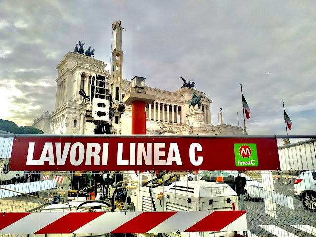 Metro C: Next stop, piazza Venezia