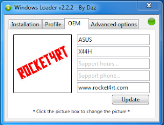 Cara Membuat Gambar Logo OEM Manufacturer Windows 7