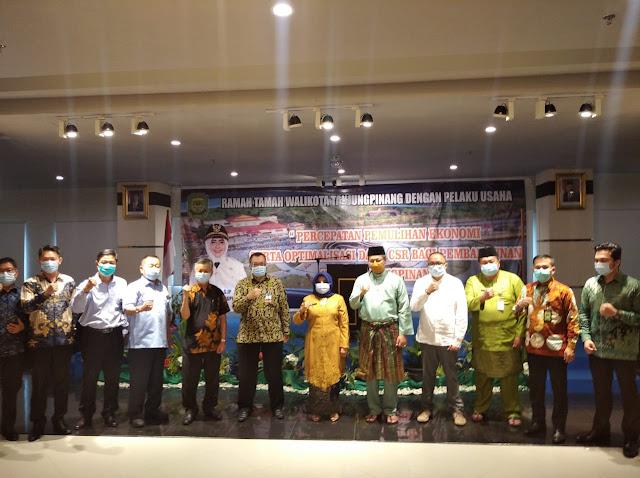 Walikota Tanjungpinang, Menjamin Permudah Regulasi Para Pelaku Usaha