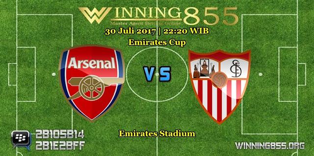 Prediksi Skor Arsenal vs Sevilla