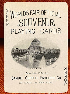 Joker 1904 Worlds Fair in Saint Louis