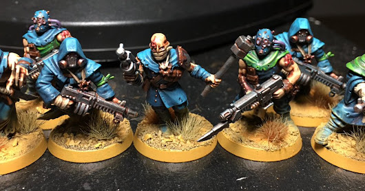Alpha Legion Cultists: First Batch