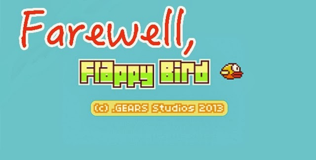 Flappy Bird to be removed from app stores!