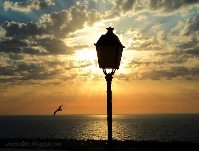 O por do sol existe, para te mostrar que, até ao fim... o melhor ainda poderá estar para vir... / The sunset is there, to show you, that until the end... the best might be yet to come...