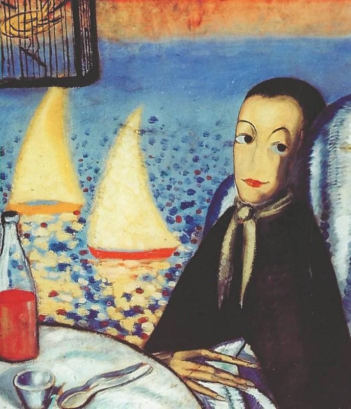 The Sick Child (Self-Portrait in Cadaques)