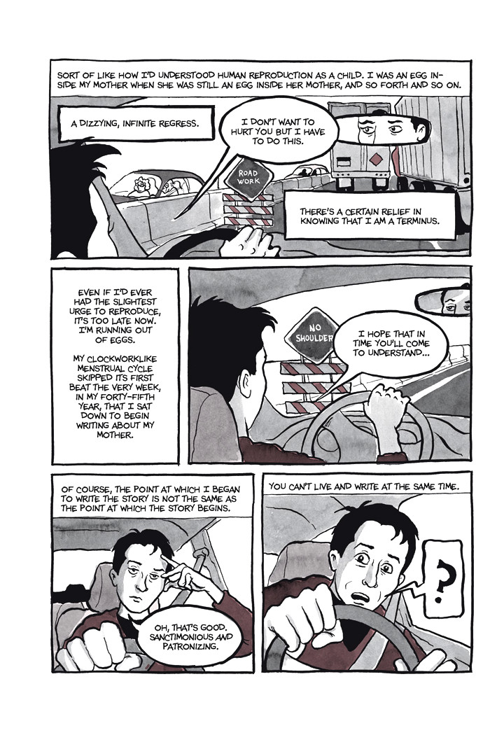 Page 7, Chapter 1: Ordinary Devoted Mother from Alison Bechdel's graphic novel Are You My Mother