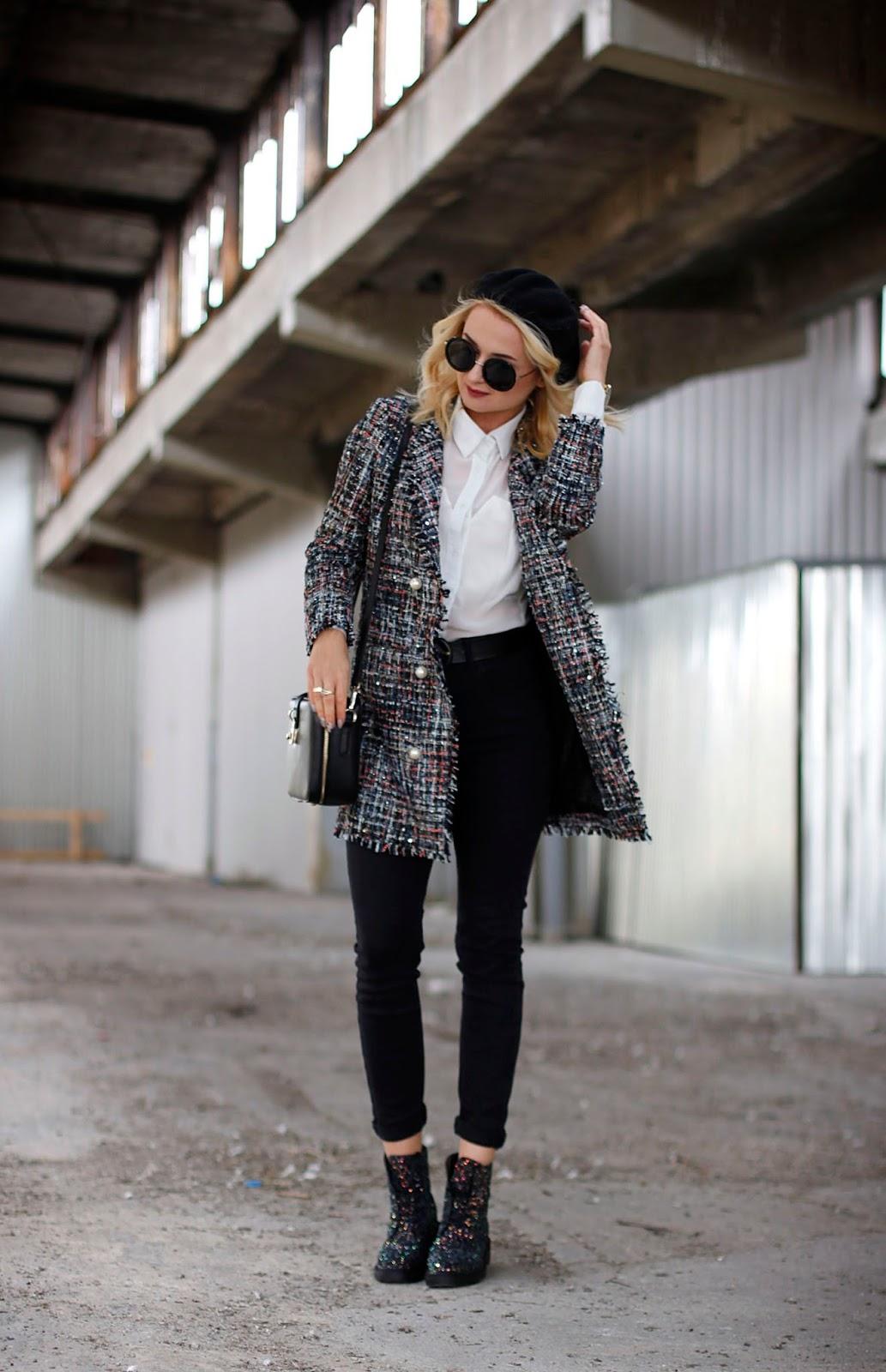 Stylizacja w klimacie Chanel