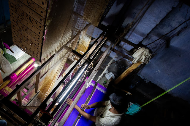 Murshidabad Silk Weaver