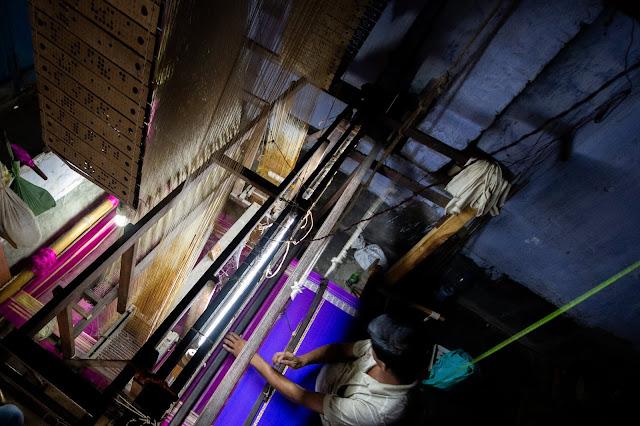 Murshidabad Silk Weaver