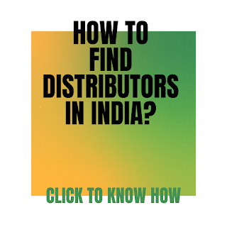 How to find distributors in India?