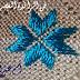 الطرز على الراندة بالرباطي شكل النجيمة مع أم عمران