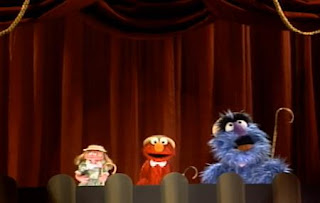 Herry Monster, Prairie Dawn and Elmo sing a song. It is about number three. Sesame Street The Best of Elmo