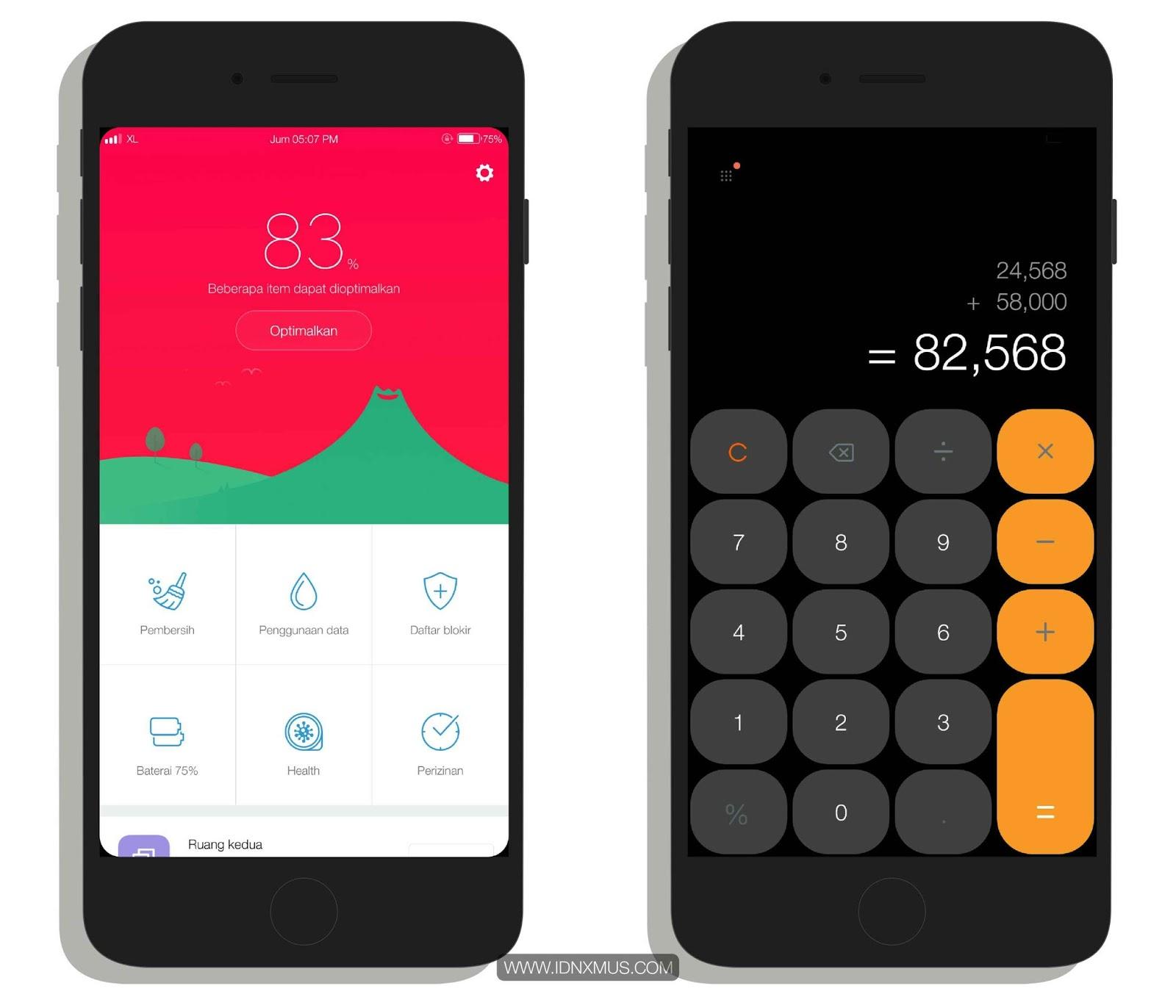 Tema Xiaomi iOS Bose